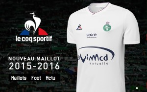 Saint-Etienne 2016 maillot exterieur ASSE 15-16 officiel boutique