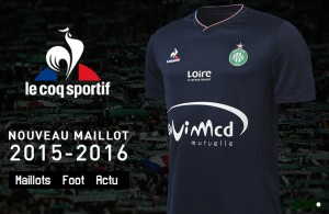 Saint-Etienne 2016 maillot third ASSE 15-16 officiel boutique
