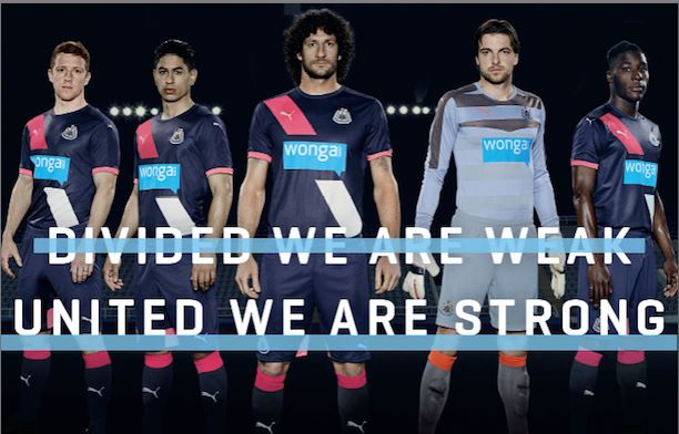 maillot third Newcastle 2015 2016