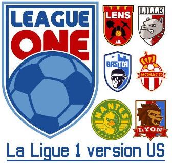 logo L1 style Amérique