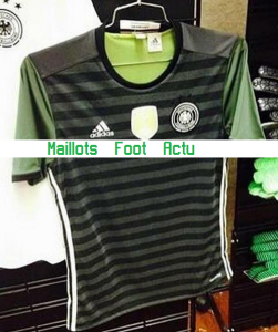 Allemagne 2016 maillot exterieur foot Euro 2016