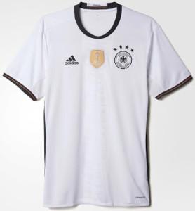 Allemagne Euro 2016 le maillot domicile