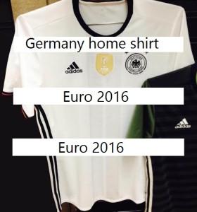 Allemagne Euro 2016 le maillot foot domicile
