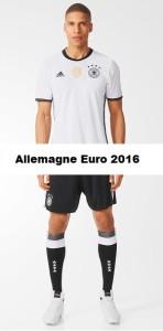 Allemagne Euro 2016 maillot de foot domicile