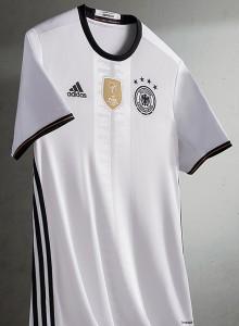 Allemagne Euro 2016 maillot de football domicile