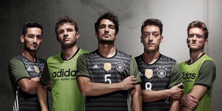 Les maillots de foot Allemagne Euro 2016