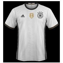 Allemagne Euro 2016 maillot foot domicile