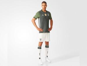Allemagne Euro 2016 tenue de football exterieur maillot short chaussettes