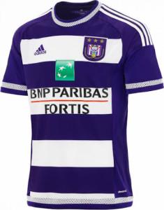 Anderlecht 2016 maillot domicile 2015 2016