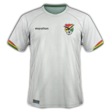 Bolivie 2015 maillot foot exterieur Copa America