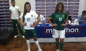 Bolivie 2015 maillots de football 15-16