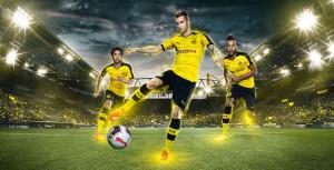 Borussia Dortmund 2016 maillot domicile officiel 15-16