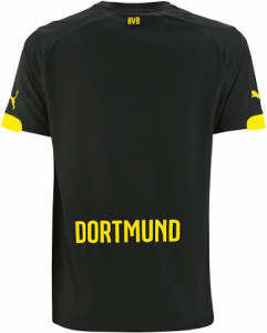 Borussia Dortmund 2016 maillot exterieur dos