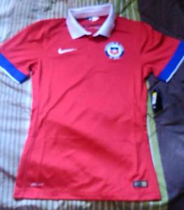 Chili 2015 2016 maillot foot domicile