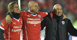 Chili 2015 maillot vainqueur Copa America