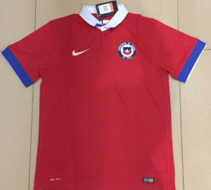 Chili 2016 maillot football domicile