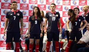 Costa Rica 2015 2016 troisieme maillot foot