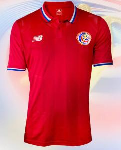 Costa Rica 2015 maillot domicile foot