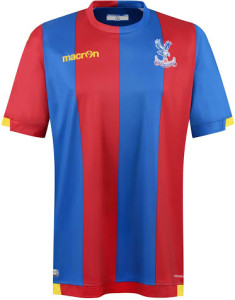 Crystal Palace 2016 maillot foot domicile 15-16