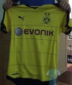 Dortmund 2016 maillot domicile 15-16