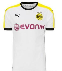 Dortmund 2016 maillot exterieur 15-16 foot