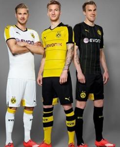 Dortmund 2016 maillots de football 2015 2016