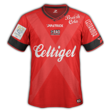 EA Guigamp 2016 maillot foot domicile 15-16