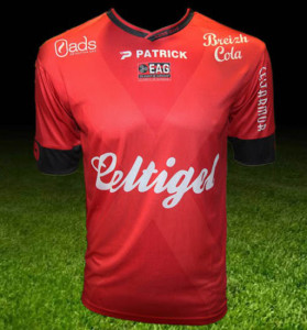 EA Guingamp 2016 maillot domicile 2015 2016