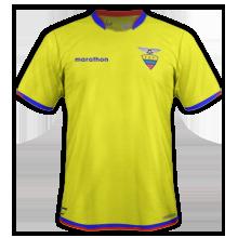 Equateur 2015 maillot domicile Copa America