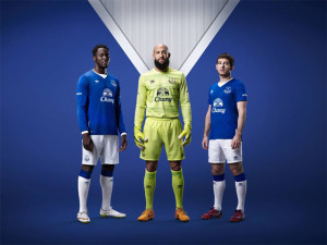 Everton 2016 maillot domicile 2015 2016 officiel
