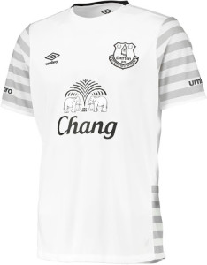 Everton 2016 maillot exterieur officiel 2015 2016