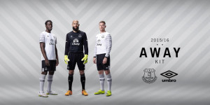 Everton 2016 maillot exterieur officiel