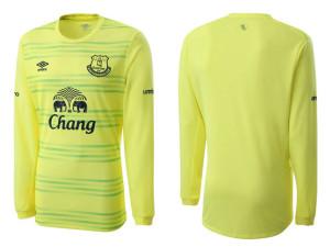 Everton 2016 maillot gardien