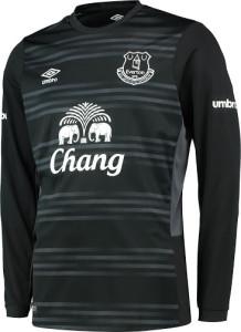 Everton 2016 maillot gardien exterieur 15-16