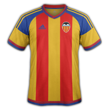 FC Valence 2016 maillot exterieur 2015 2016