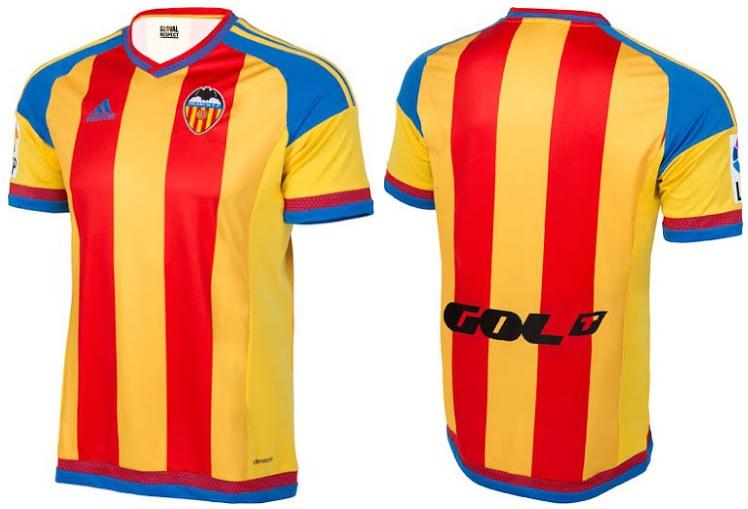 Maillot Extérieur Valencia CF Tenue de match
