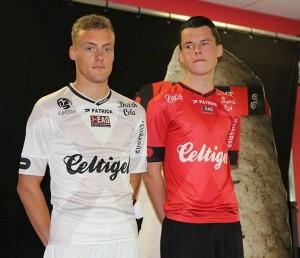 Guingamp 2015 2016 nouveaux maillots foot