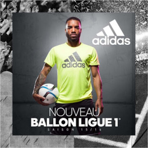 L1 2016 nouveau ballon Ligue 1 2015 2016 Lacazette
