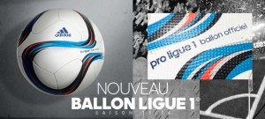L1 2016 nouveau ballon foot Ligue 1 2015-2016 officiel