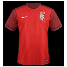 LOSC 2016 Lille maillot domicile football
