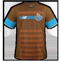 Porto 2016 maillot foot exterieur 15-16