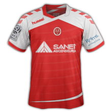 Reims 2016 maillot domicile 15-16 football