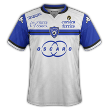 SC Bastia 2016 maillot exterieur foot