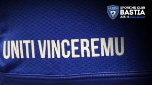 SC Bastia 2016 maillot uniti vinceremu 2015 2016