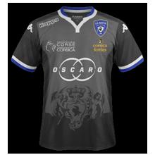 SC Bastia 2016 troisieme maillot third