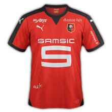 Stade Rennais 2016 maillot domicile Rennes 15-16