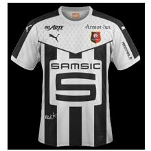 Stade Rennais 2016 maillot exterieur Rennes 15-16