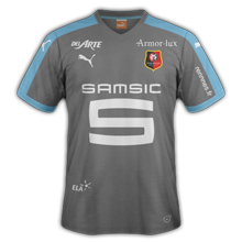 Stade Rennais 2016 maillot third Rennes 15-16