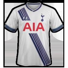 Tottenham 2015 2016 maillot domicile 15-16