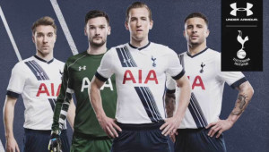 Tottenham 2015 2016 maillot domicile officiel